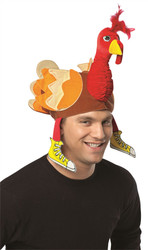 Thanksgiving Turkey Trot Hat Adult One Size