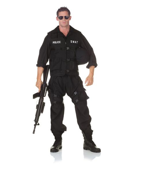 sc 1 st  CostumeVille & Adult SWAT Jumpsuit Police Costume One Size