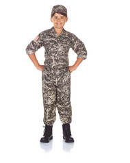 Army Camo Set  Kids Costume