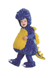 Plush Stegosaurus Toddler Costume