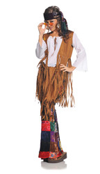 Women's  Retro 60's Hippie Costume