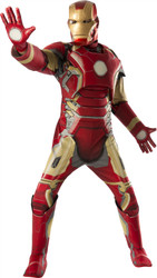 Adult Deluxe Iron Man Mark43 Avengers 2 Costume Standard