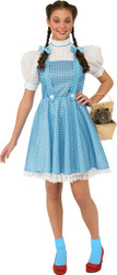 Adult Wizard of Oz Dorthy Costume Large