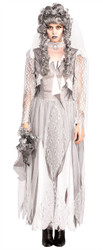 DEAD BRIDE couples sexy womens halloween costume ghost goul zombie ONE SIZE