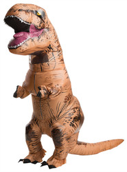 Jurrasic World Inflatable T-Rex Adult Costume