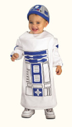 R2D2 Star Wars robot android baby toddler boys girls halloween costume up to 24M