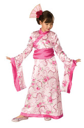 ASIAN PRINCESS geisha International girls kimono japenese halloween costume