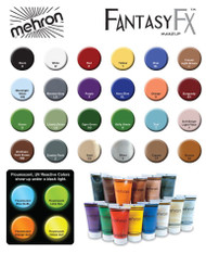 Fantasy FX Cream Tube Face Paint Makeup Mehron
