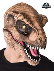 Dinosaur T-Rex 3/4 Mask- Adult Costume Accessory