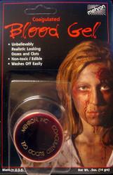 Professional Coagulated Blood Gel by Mehron - 0.5 oz