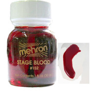 Edible Stage Blood Professional Makeup by Mehron - 1oz