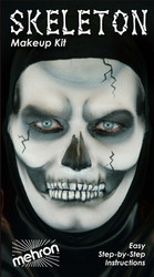 Skeleton Professional Stage Makeup Kit by Mehron
