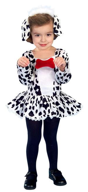 DALMATIAN DOG DRESS cruella de ville toddler puppy girls halloween costume 2T 4T  sc 1 st  CostumeVille & DALMATIAN DOG DRESS cruella de ville toddler puppy girls halloween ...