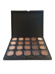 Celebre Pro HD Cream Foundation Make-up Palette 20 Colors