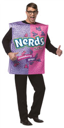 Pink Purple Nestle Nerds Box Candy Food Adult Funny Mens Halloween Costume Sweet