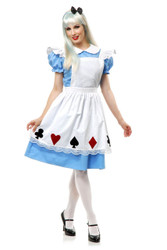 Storybook Alice Womens Costume