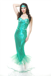 Emerald Mermaid Costume