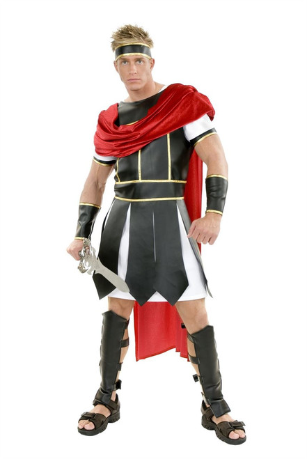 Trojan Warrior Spartan Roman Costume Mens  sc 1 st  CostumeVille : mens spartan costume  - Germanpascual.Com