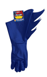 Batman Adult Blue Gloves by Rubies