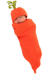 Carrigan the Carrot Costume Newborn Infant