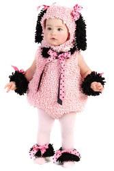 Pink Poodle Puppy Infant/Toddler Costume