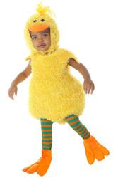 Yellow Baby Duck Romper
