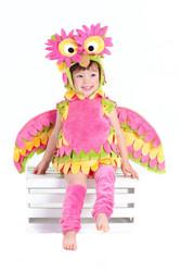 Holly The Owl Child Bird Costume