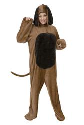 Adult Brown Dog Costume
