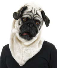 Moving Mouth Pug Mask