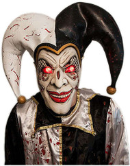 Light-Up Evil Harlequin Mask