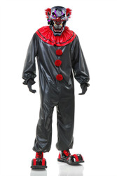 Scary Smokin Joe The Evil Clown Halloween Costume