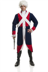 Revolutionary Soldier Mens Costume
