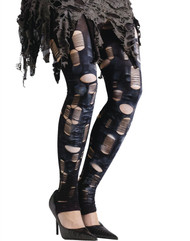 Zombie Tattered Tights Adult Costume Accessory