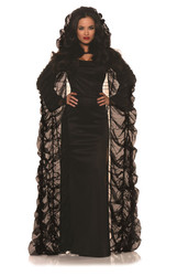 Coffin Cape Costume Accessory