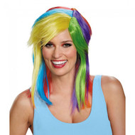 My Little Pony Rainbow Dash Adult Wig Costume Accessory