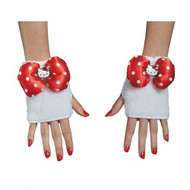 Hello Kitty Adult Red Glovelettes Costume Accessory