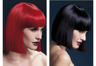 Fever Lola Wig Short Blunt Cut Wig by Smiffy's