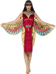 Egyptian Goddess Isis Dress Womens Costume by Smiffy's