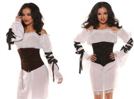 Womens Corset Waist Cincher Costume Accessory