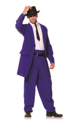 Blue 1940s Zoot Suit Adult Costume