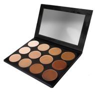 Celebre Pro HD Contour/Highlight Palette Makeup 12 Colors by Mehron