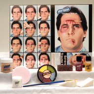 SEVERE TRAUMA KIT professional stage graftobian emergency wound halloween makeup