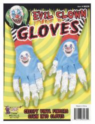 Evil Clown Gloves Monster Demon Hands Halloween Costume Accessory