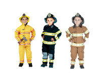 Firefighter Costume with Helmet by Aeromax