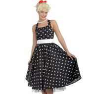 50s CUTIE vintage housewife happy days womens halloween costume M/L 8-12
