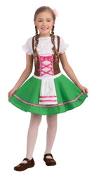 Gretel Heidi Bavarian Girl Halloween Costume