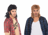 Mullet Wig Redneck Hillbilly Adult Mens Costume Accessory by Forum