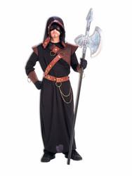 MEDIEVAL EXECUTIONER robe reaper mens renaissance historical halloween costume