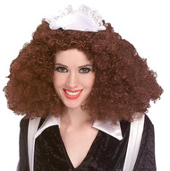 MAGENTA WIG Rocky Horror picture Show adult womens red hair halloween costume