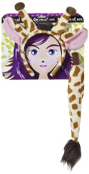 Giraffe Ears & Tail Costume Accessory Kit